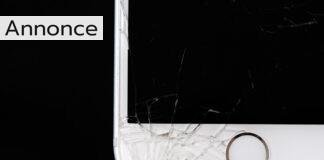 ødelagt telefon